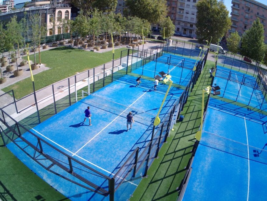 2 Deluxe Camps and 2 Panoramic Camps installed at City Life in Milan